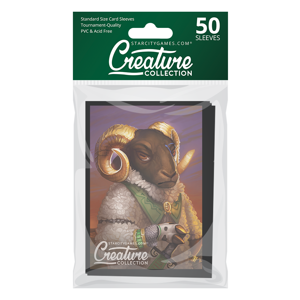 StarCityGames.com Matte Sleeves - Creature Collection - Fleecekeeper (50 ct.)