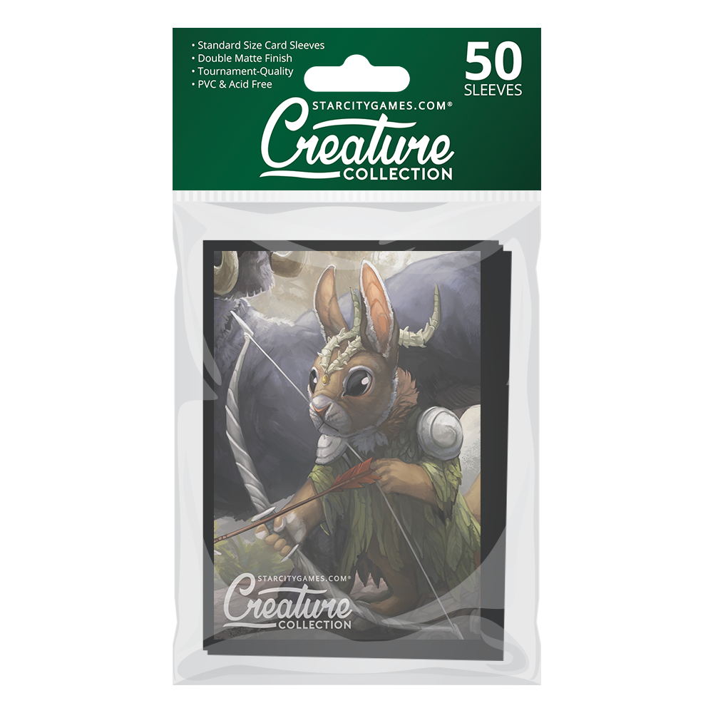 StarCityGames.com Matte Sleeves - Creature Collection - Bramblehopper Elite