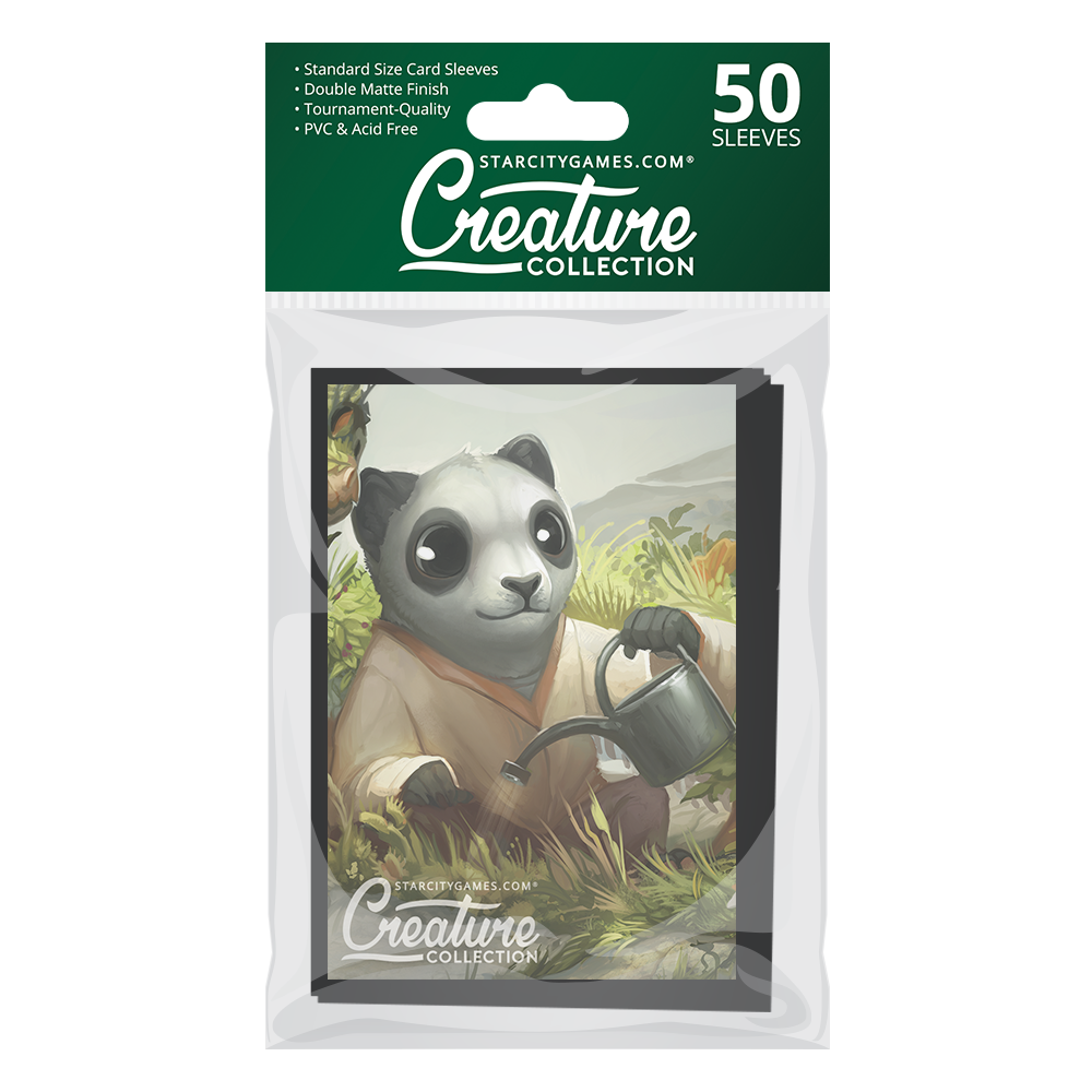 StarCityGames.com Matte Sleeves - Creature Collection - Garden Tendencies