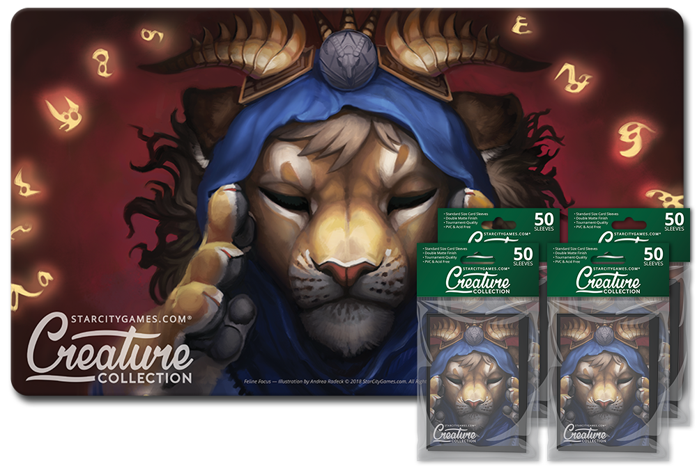 StarCityGames.com Player Bundle - Creature Collection - Feline Focus