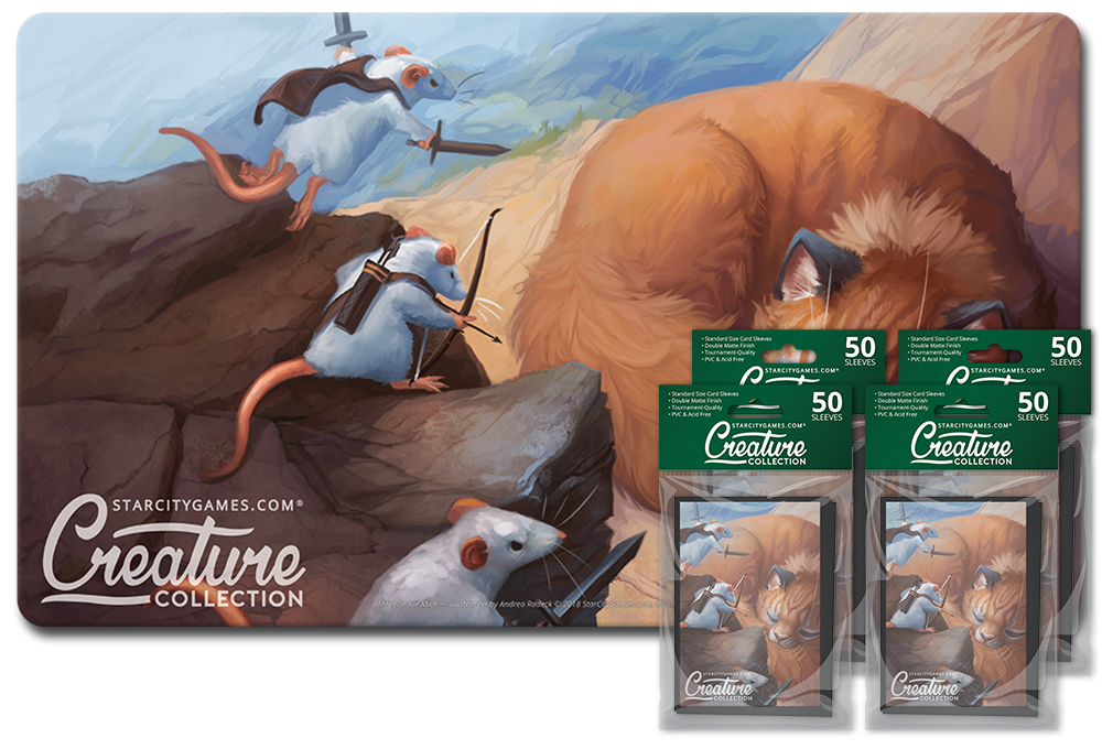 StarCityGames.com Player Bundle - Creature Collection - Three Brave Mice