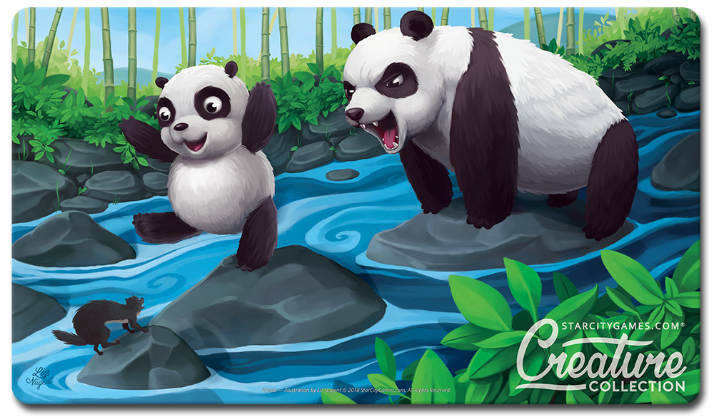 StarCityGames.com Playmat - Creature Collection - Panda
