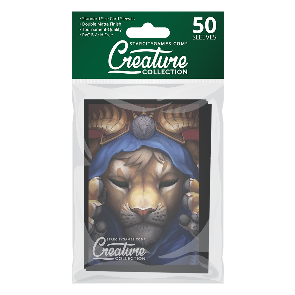 StarCityGames.com Matte Sleeves - Creature Collection - Feline Focus