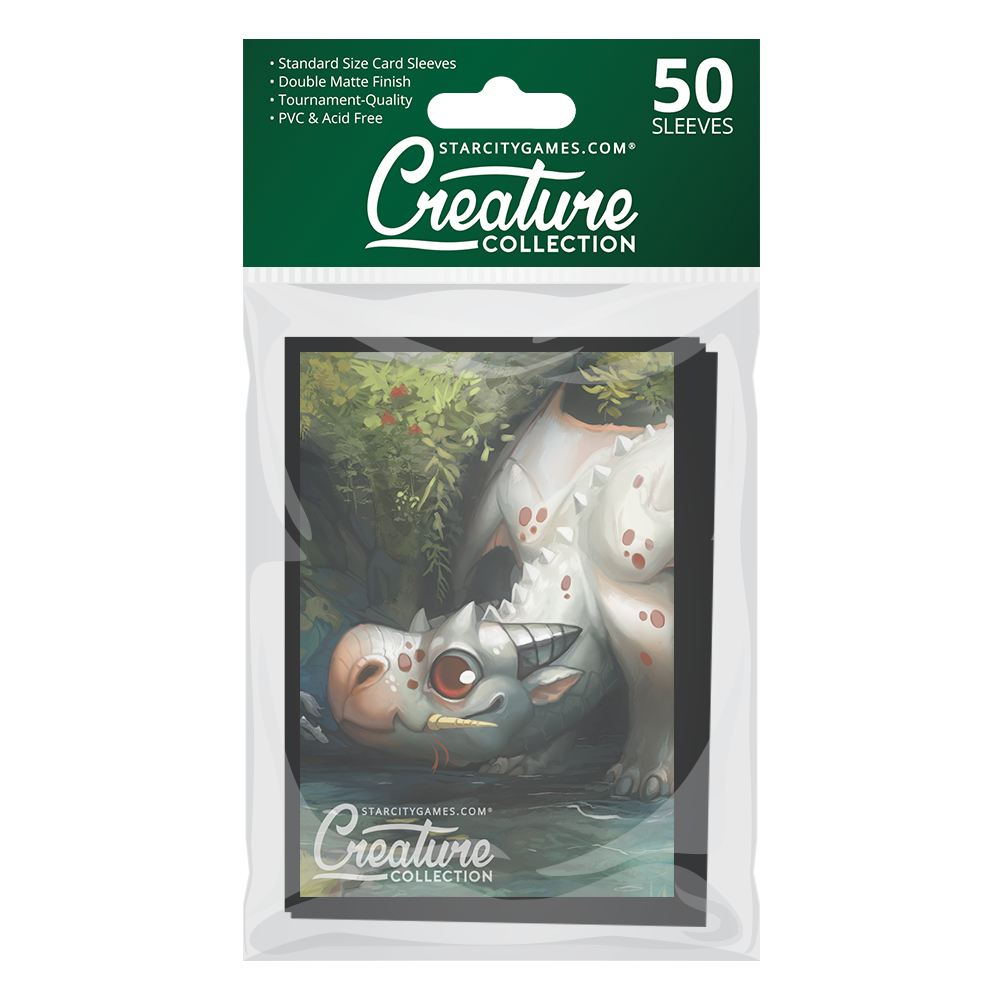 StarCityGames.com Matte Sleeves - Creature Collection - Playing with Fire
