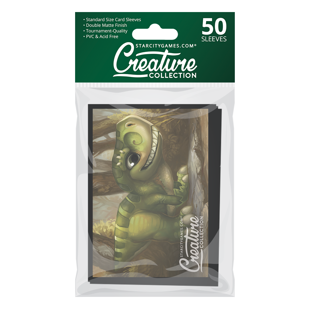 StarCityGames.com Matte Sleeves - Creature Collection - Prehistoric Playtime