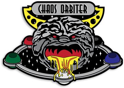 Grand Prix: Orlando 2014 Collectible Pin - Chaos Orbiter