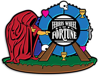 Grand Prix: Orlando 2014 Collectible Pin - Ferris Wheel of Fortune