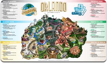 Grand Prix: Orlando 2014 Playmat - Dominaria Resort
