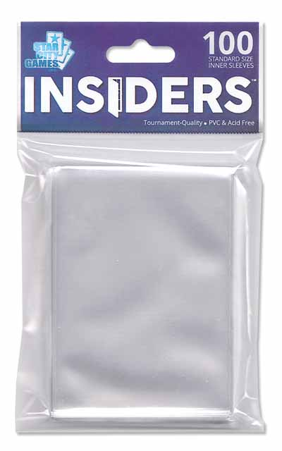 StarCityGames.com Sleeves - Insiders® (100 ct.)