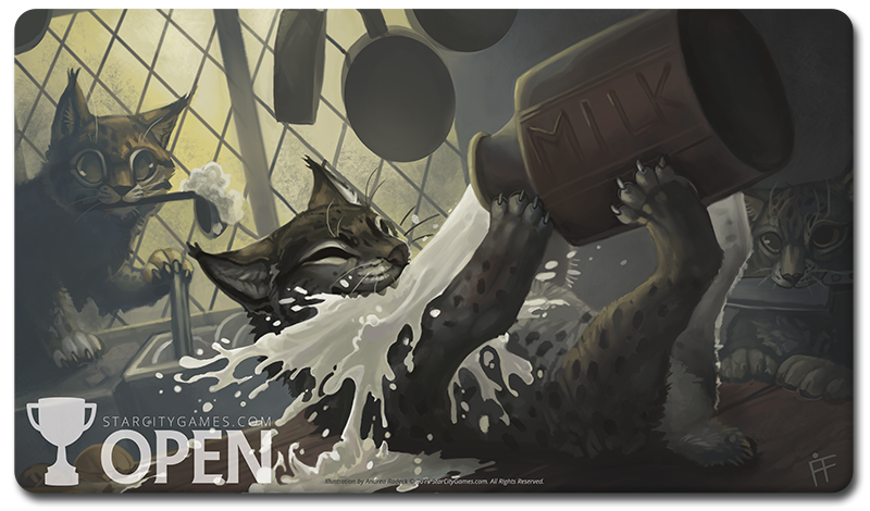 Starcitygames Com Open Playmat Kitchen Lynx At
