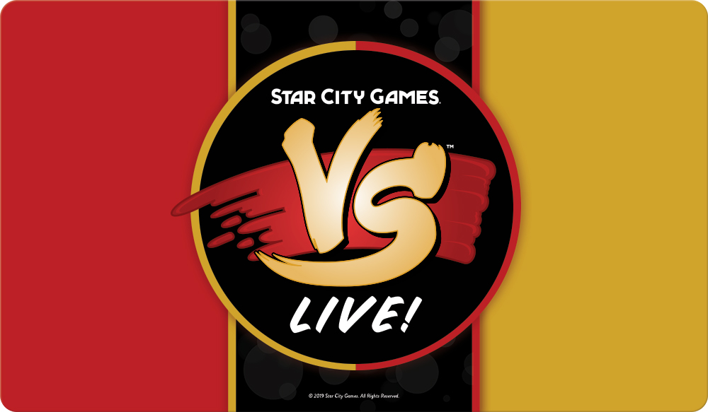 Star City Games Playmat VS Live