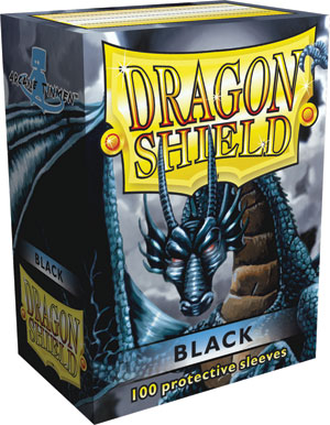 Dragon Shield Sleeves - Black (100 ct.)