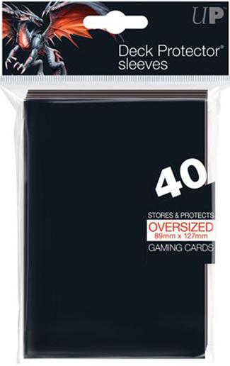 Ultra Pro Oversized Sleeves - Black