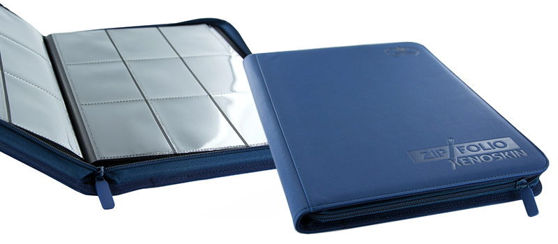 Ultimate Guard 9-Pocket XenoSkin™ ZipFolio - Royal Blue