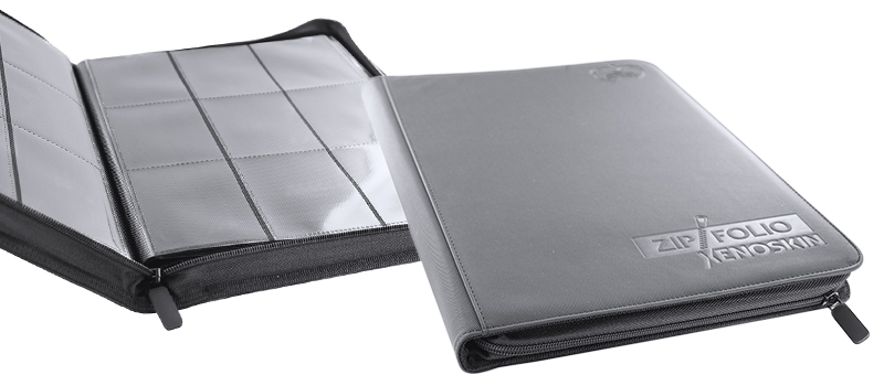 Ultimate Guard 18-Pocket XenoSkin™ ZipFolio - Grey