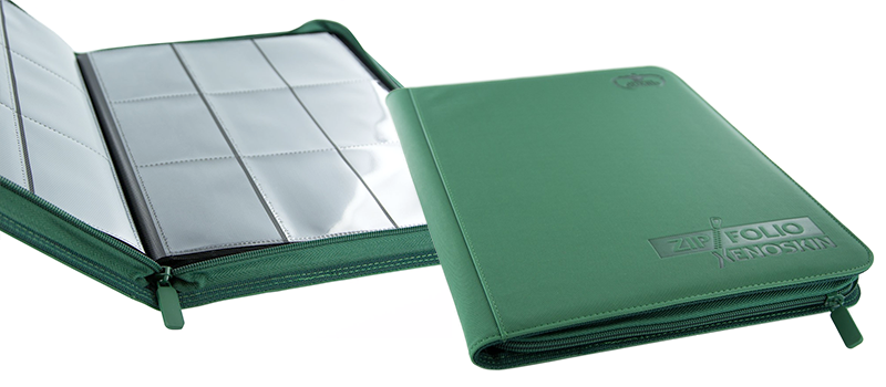 Ultimate Guard 9-Pocket XenoSkin™ ZipFolio - Green