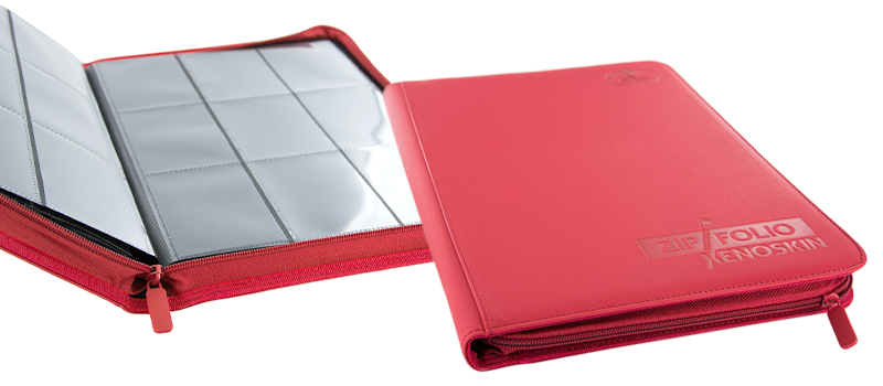 Ultimate Guard 9-Pocket XenoSkin™ ZipFolio - Red