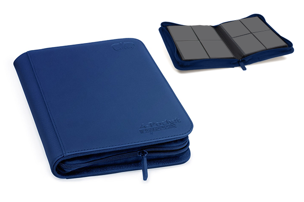 Ultimate Guard 4-Pocket XenoSkin™ ZipFolio - Dark Blue