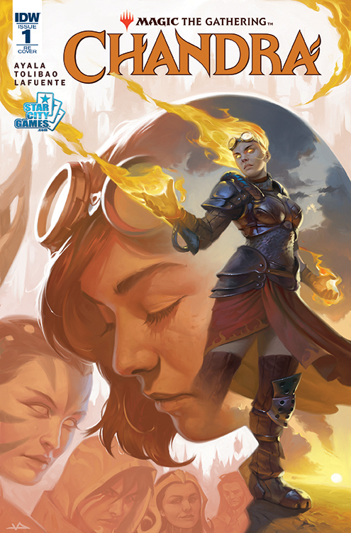 Magic: The Gathering:  Chandra #1 Comic Book Victor Adame Minguez Cover Variant