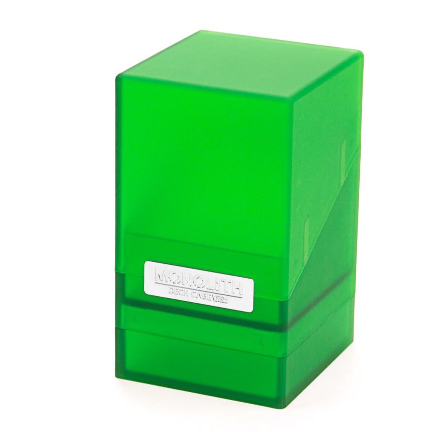 Ultimate Guard Monolith™ Deck Case 100+ - Emerald