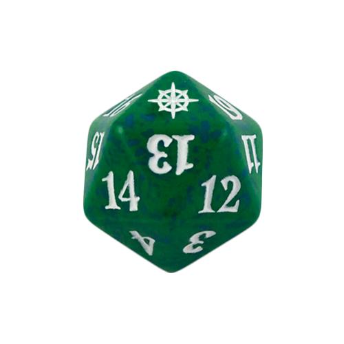 Magic Spindown Die - Ixalan - Green