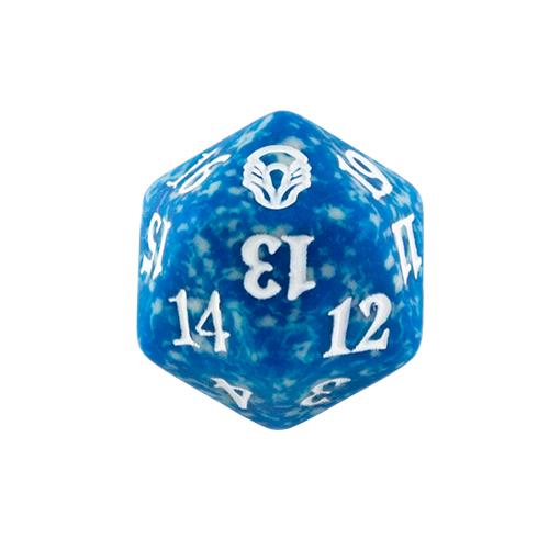 Magic Spindown Die - Dominaria - Blue