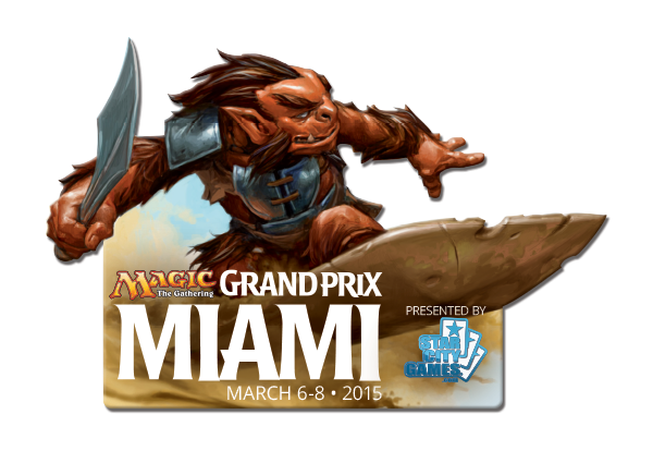 Grand Prix: Miami 2015 Collectible Pin - Mardu Scout