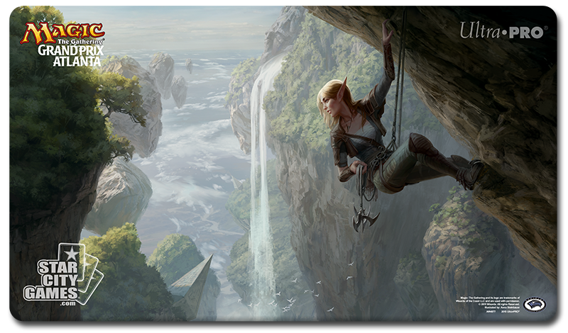 Grand Prix: Atlanta 2015 Playmat - Seek the Wilds