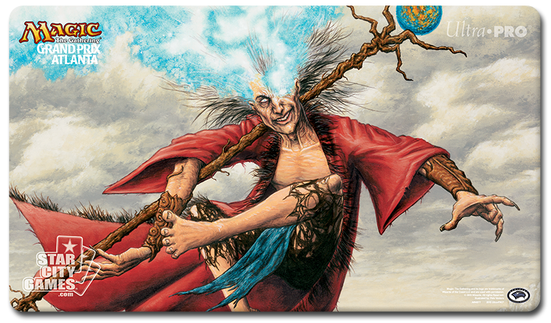Grand Prix: Atlanta 2015 Playmat - Zur the Enchanter