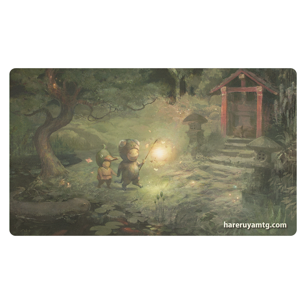 Grand Prix: Chiba 2016 Playmat - The Shrine in the Firefly Forest
