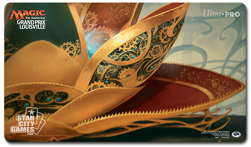 Grand Prix: Louisville 2017 Playmat - Lotus Petal