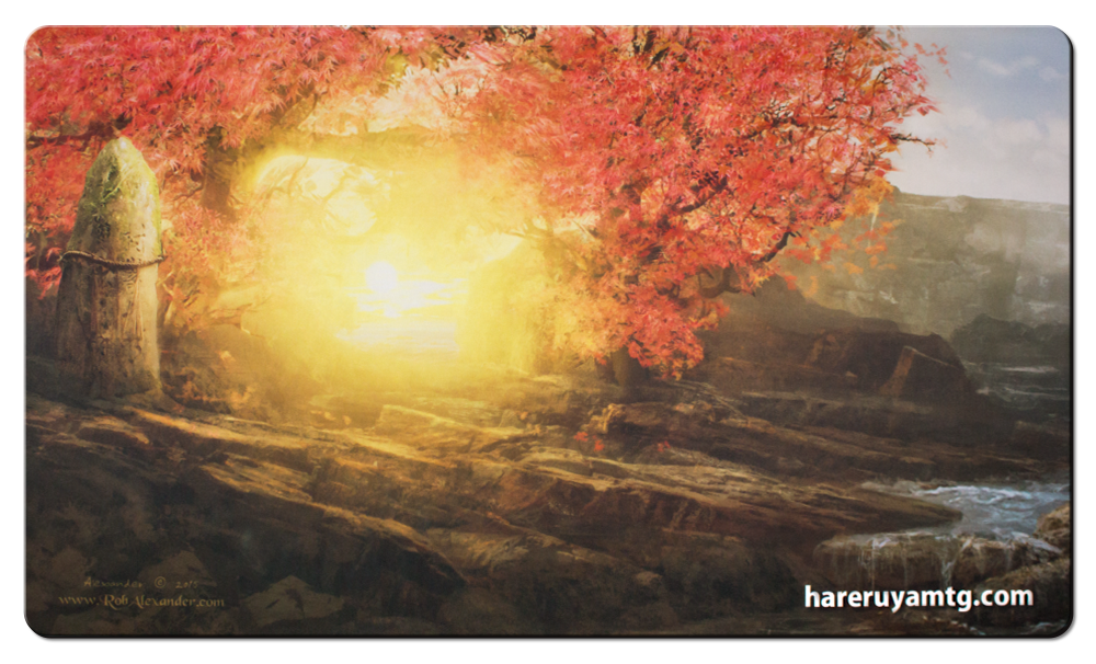 Hareruya Playmat - Four Seasons - Autumn