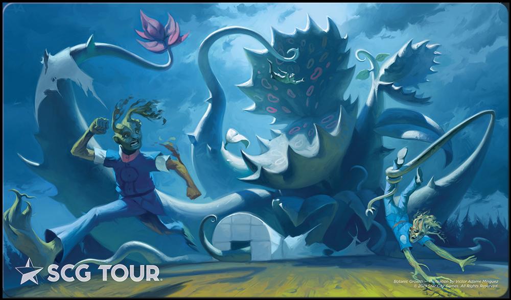Star City Games Tour Playmat - Botanic Growth