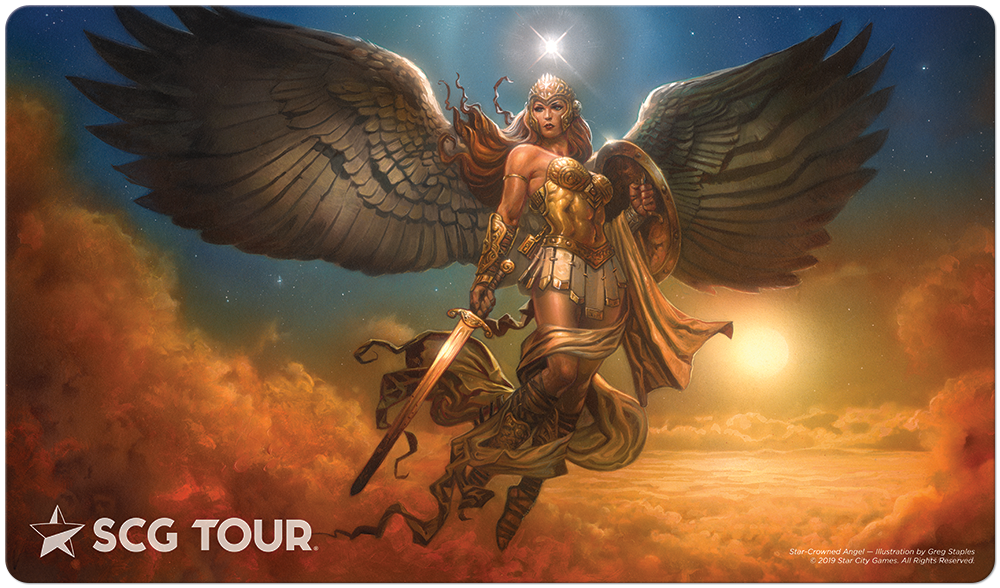 Star City Games Tour Playmat - Star-Crowned Angel