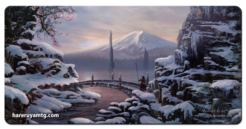 Hareruya Playmat - Four Seasons - Winter