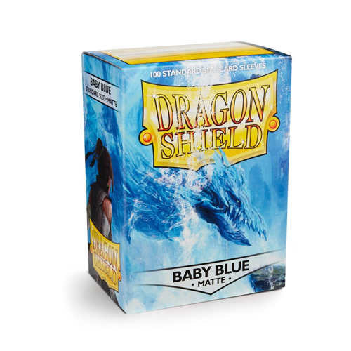 Dragon Shield Matte Sleeves - Matte Baby Blue
