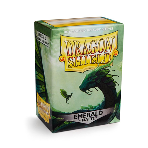 Dragon Shield Matte Sleeves - Matte Emerald