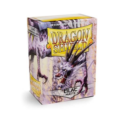 Dragon Shield Matte Sleeves - Matte Lilac
