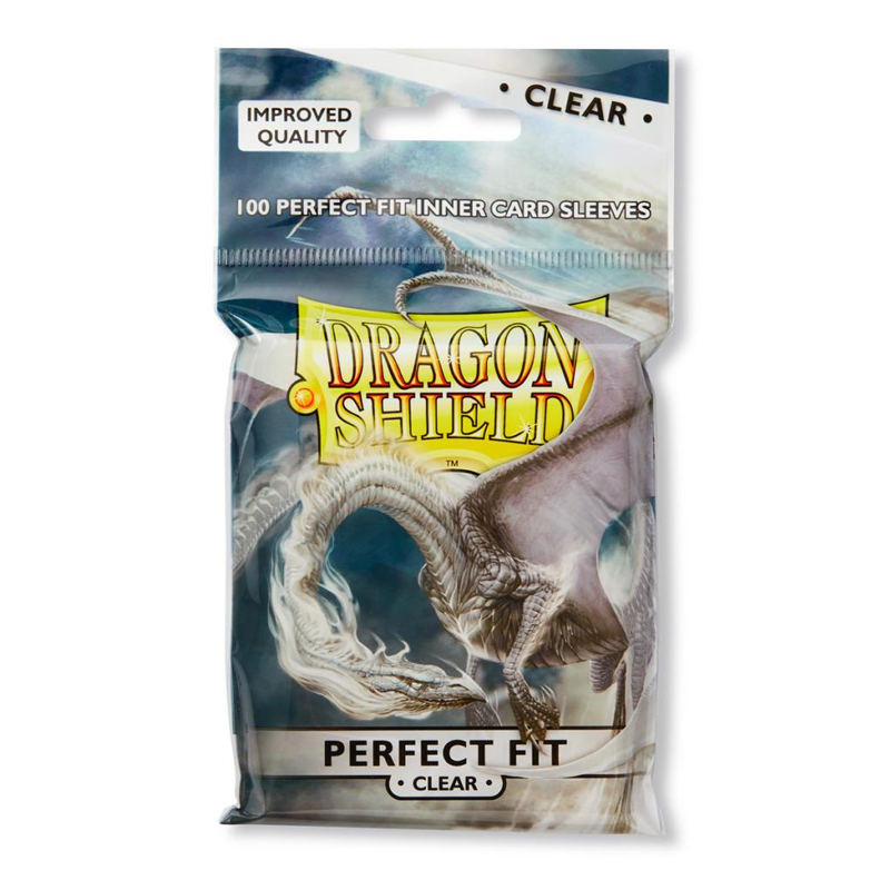 Dragon Shield Sleeves - Perfect Fit - Clear