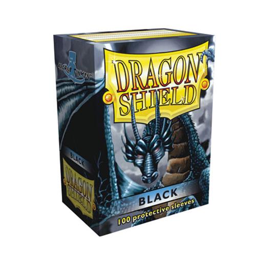 Dragon Shield Sleeves - Black (100 ct.)
