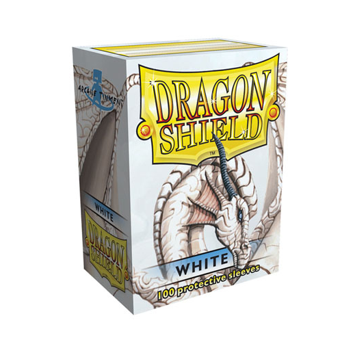 Dragon Shield Sleeves - White (100 ct.)