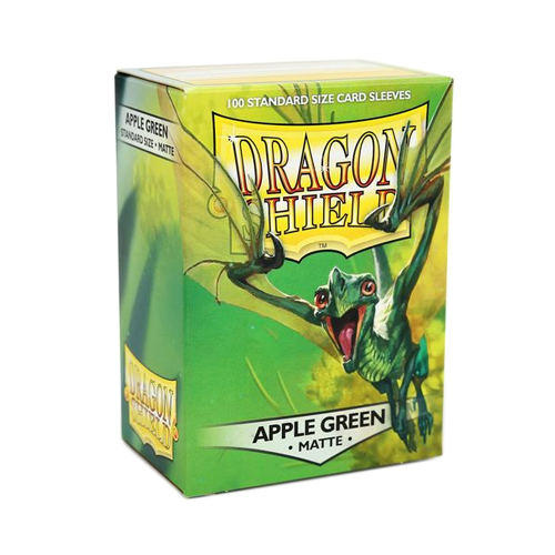 Dragon Shield Matte Sleeves - Matte Apple Green