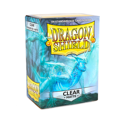 Dragon Shield Matte Sleeves - Matte Clear