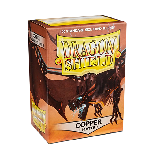 Dragon Shield Matte Sleeves - Matte Copper