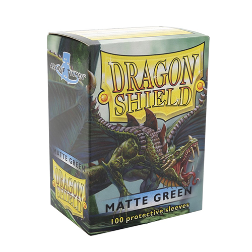 Dragon Shield Matte Sleeves - Matte Green
