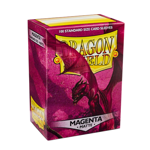 Dragon Shield Matte Sleeves - Matte Magenta