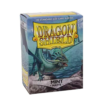 Dragon Shield Matte Sleeves - Matte Mint
