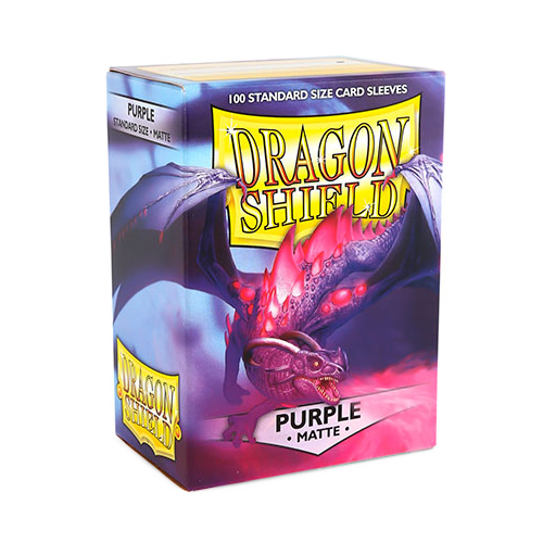 Dragon Shield Matte Sleeves - Matte Purple