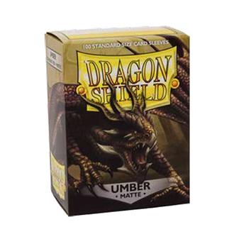 Dragon Shield Matte Sleeves - Matte Umber