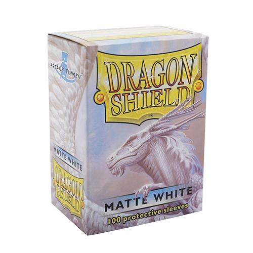 Dragon Shield Matte Sleeves - Matte White